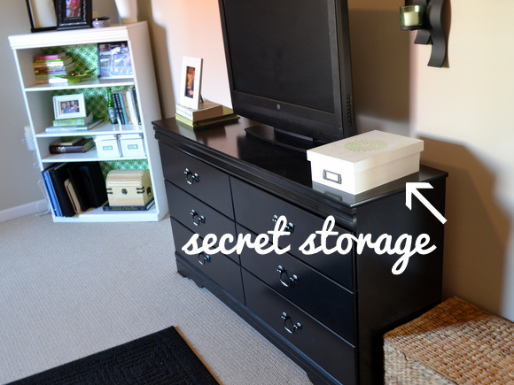Secret Storage storage solutions in a small home - diy playbook