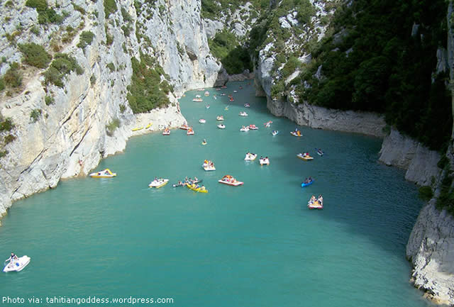 CANYON GORGES DU VERDON - FRANCE