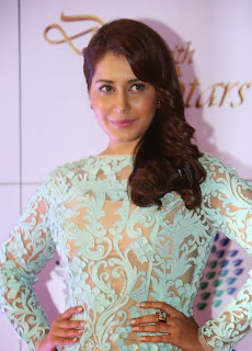 Rashi Khanna Pictures in Lace Evening Dress at Memu Saitam Dinner with Stars Red Carpet ~ Celebs Next