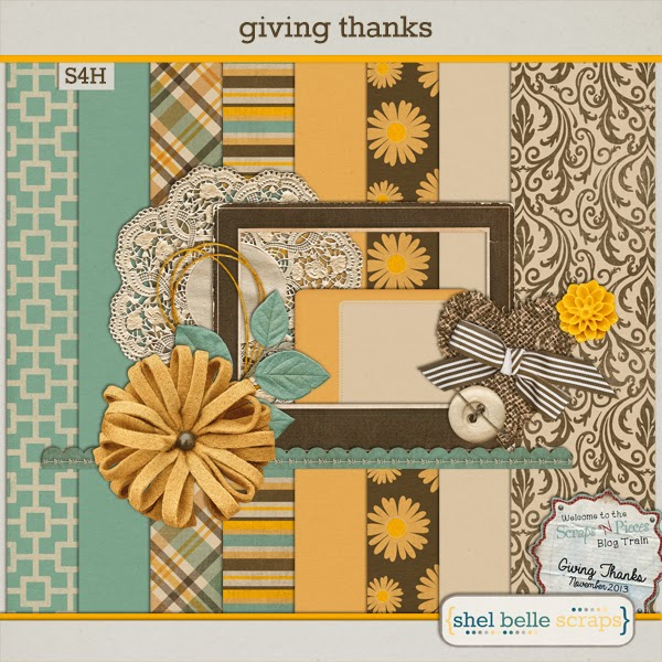 Giving Thanks blog train