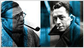 Albert Camus  X Jean-Paul Sartre: o fim da revoluo