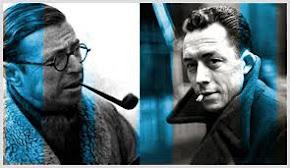 Albert Camus  X Jean-Paul Sartre: o fim da revolução