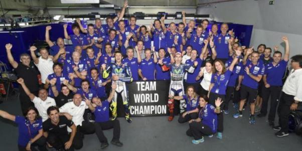 Movistar Yamaha Juara Dunia MotoGP 2015