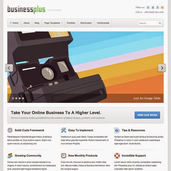 BusinessPlus v1.0.6 - Business WordPress theme