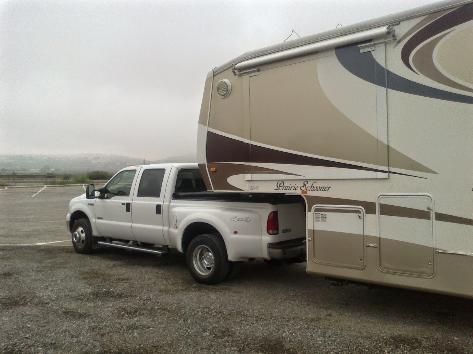 F350 and 5th wheel France / Spain