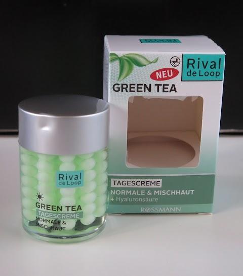 Rival de Loop Green tea dieninis kremas normaliai/mišriai odai