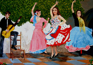 Romanza, Street Fair, Taste of the Beach, Sea Turtle Festival, and an Anniversary! 11 Spanish Dancers with Guitarist St. Francis Inn St. Augustine Bed and Breakfast