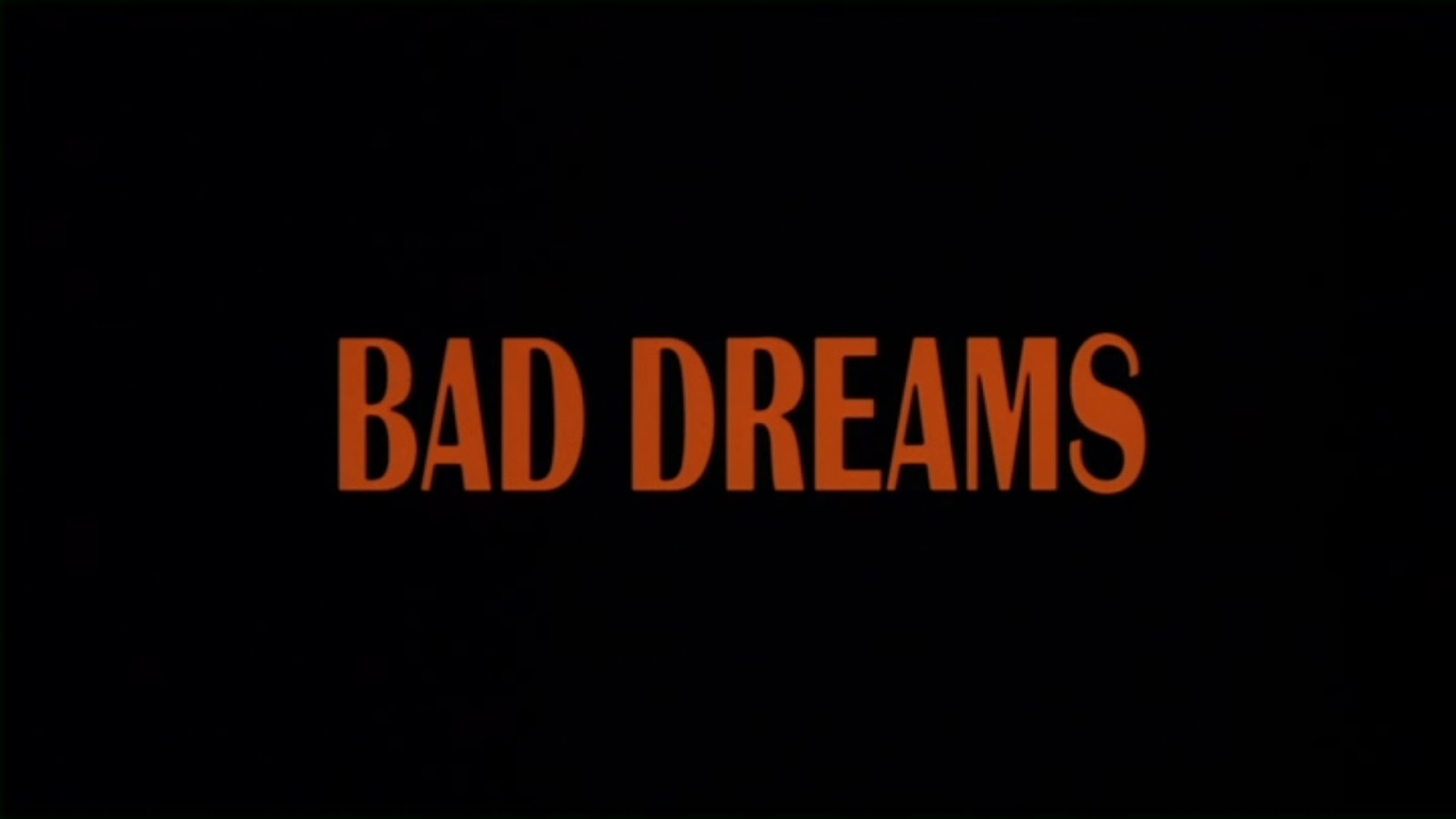 bad dreams Directed by akiva goldsman with anna torv, joshua jackson, lance reddick, kirk acevedo fbi agent dunham believes that she is killing random people in her dreams.
