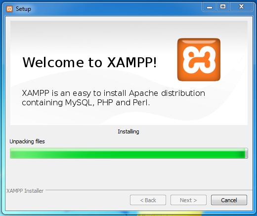 how to start xampp control panel