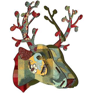 {Interiors} Trophy deer head
