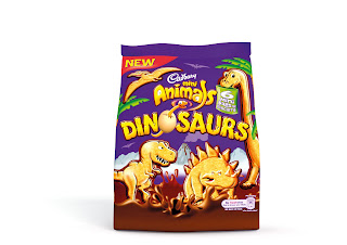 Cadbury Mini Animals Dinosaurs bag