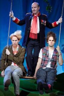 Robin Tritschler, Neal Davies, Ashley Riches - Cosi fan tutte - Garsington - photo Mark Douet