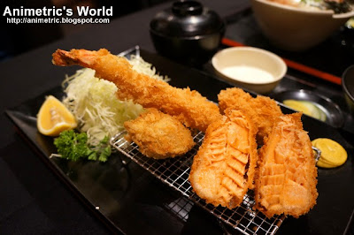 Seafood Set No. 2 at Yabu The House of Katsu