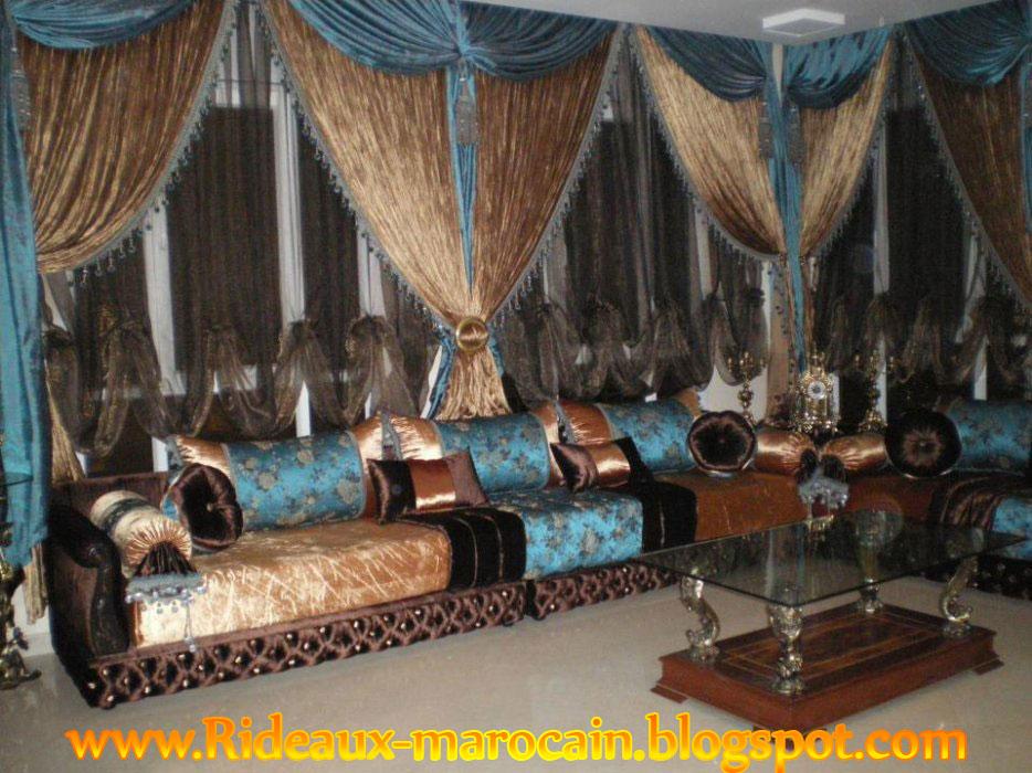 rideaux marocain rideaux marocain l 39 harmonie des couleurs turquoise et dor. Black Bedroom Furniture Sets. Home Design Ideas