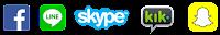 facebook skype kik snapchat usernames