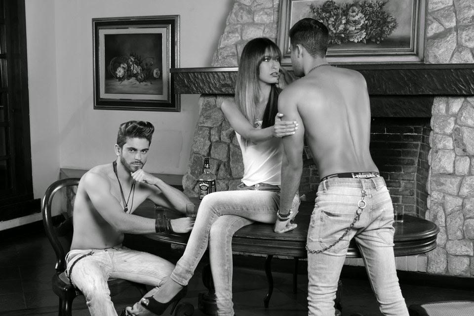 Wellington Lucchesi, Rafaela Silva e Arthur Horacio. Foto: Marcos Januário