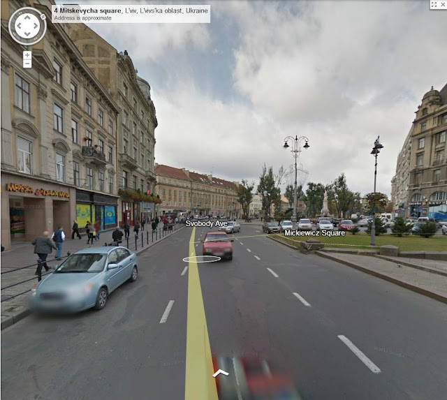 Street View Lviv West Ukraine