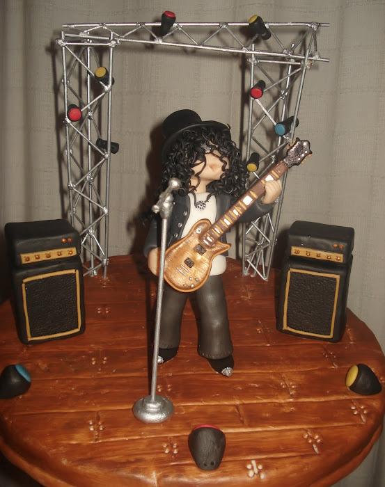 Slash en concierto!
