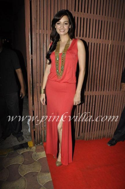 Dia Mirza & Zayed Khan @ LBZ Party Pics