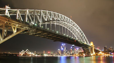 Sydney Harbor Bridge - Night