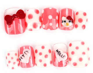 Nail Products for Polka Dot Nail Art, Polka Dot