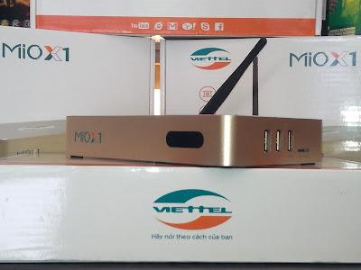 Đầu thu smartbox viettel Xmio chất lượng hơn cả sự tuyệt với