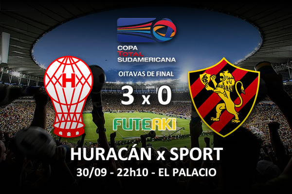 Veja o resumo da partida com os gols e os melhores momentos de Huracán 3x0 Sport pelas oitavas de final da Copa Sul-Americana 2015.