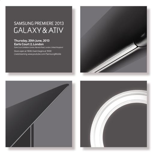 Samsung Premiere 2013 GALAXY & ATIV