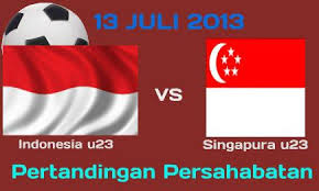 Live Streaming Singapura U23 vs Timnas U23