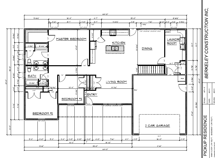 floor plan we designed the house based on the first home we built it was enlarged a bit and a bedroom elminated to create the larger great room area