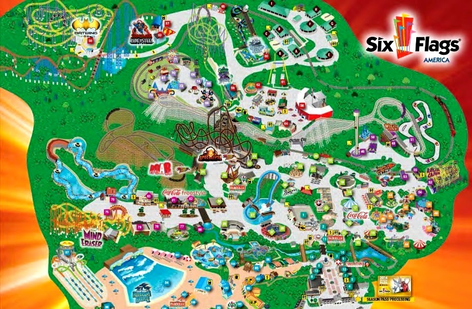 my trip to six flags 2018-8-19 with convenient six flags magic mountain  you're free to explore the park at your leisure and the return trip departs six flags magic mountain at 5:15.