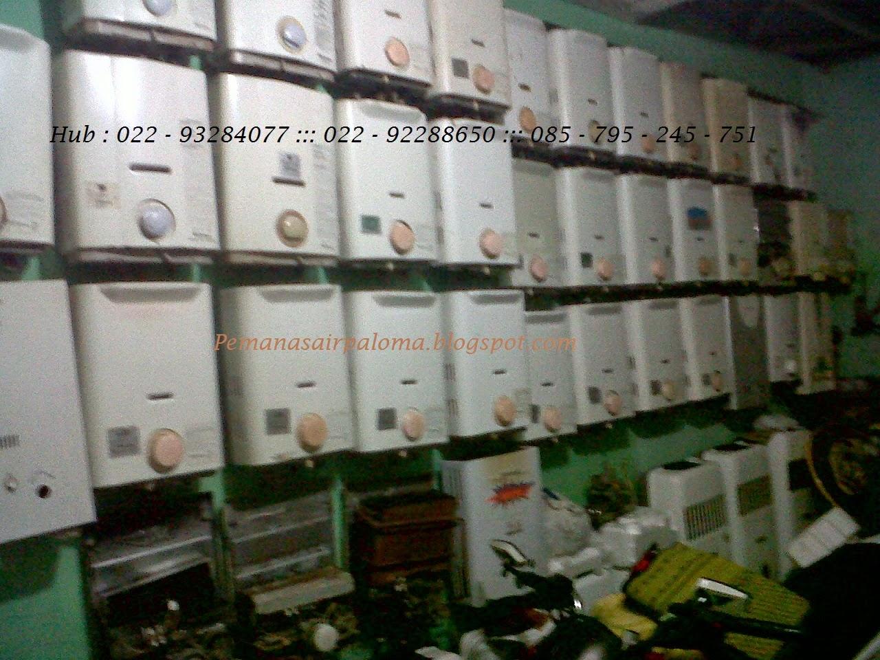 koleksi bekas water heater ariston paloma bandung