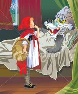 Jhardae : Little Red Riding Hood Narrative story.