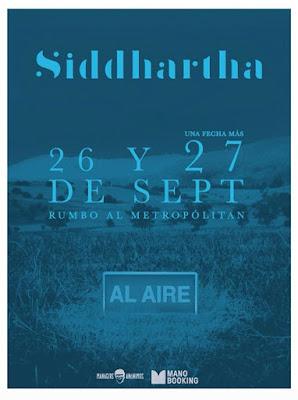 Siddhartha Al Aire 2018 DVD R1 NTSC Latino