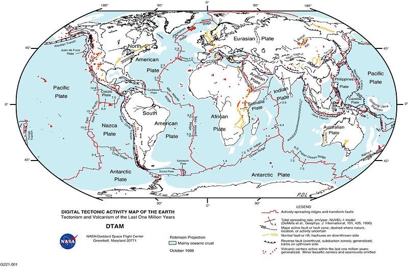 D�nya Tektonik Haritas�