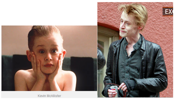 A 30 year old actors Macaulay