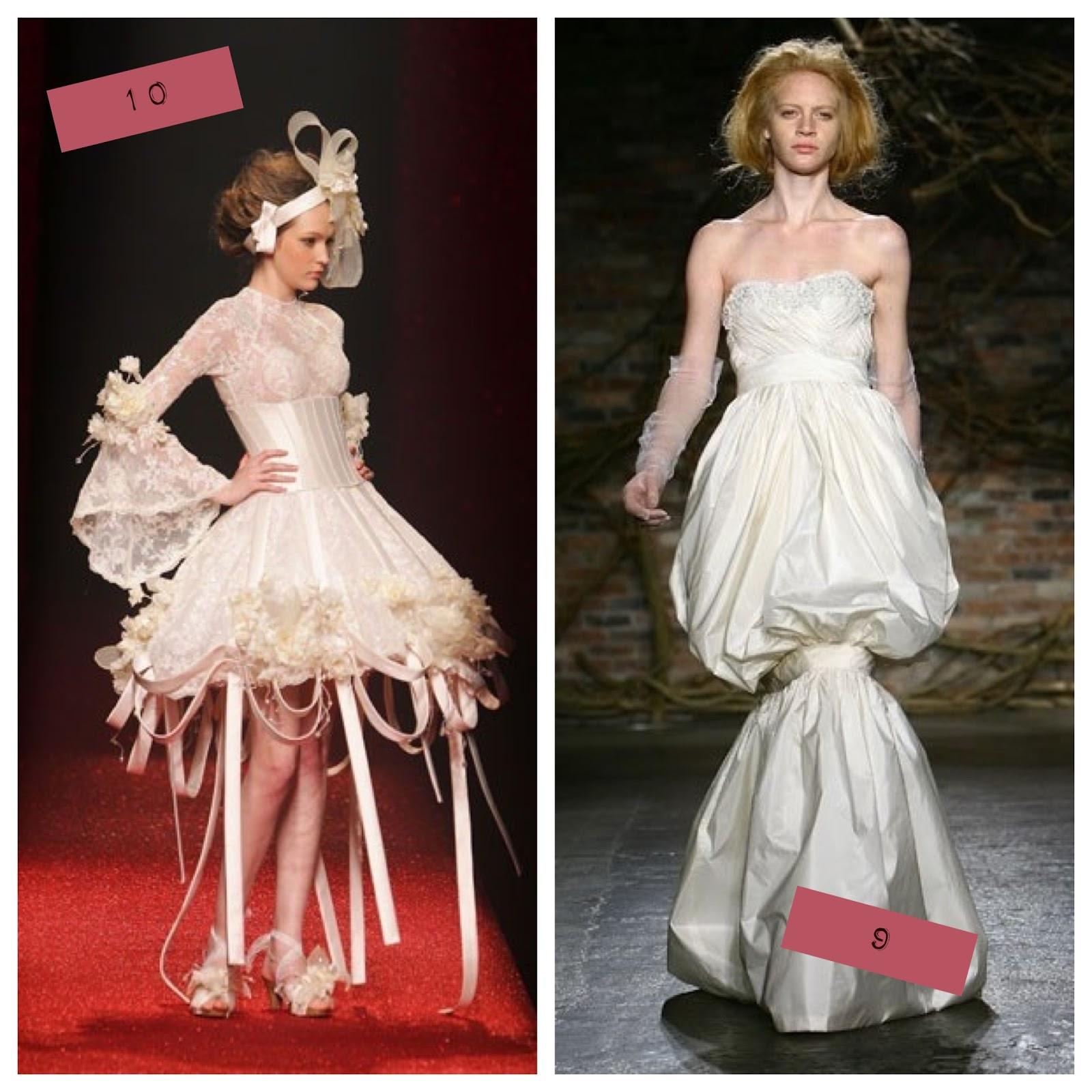 Tacky wedding dresses