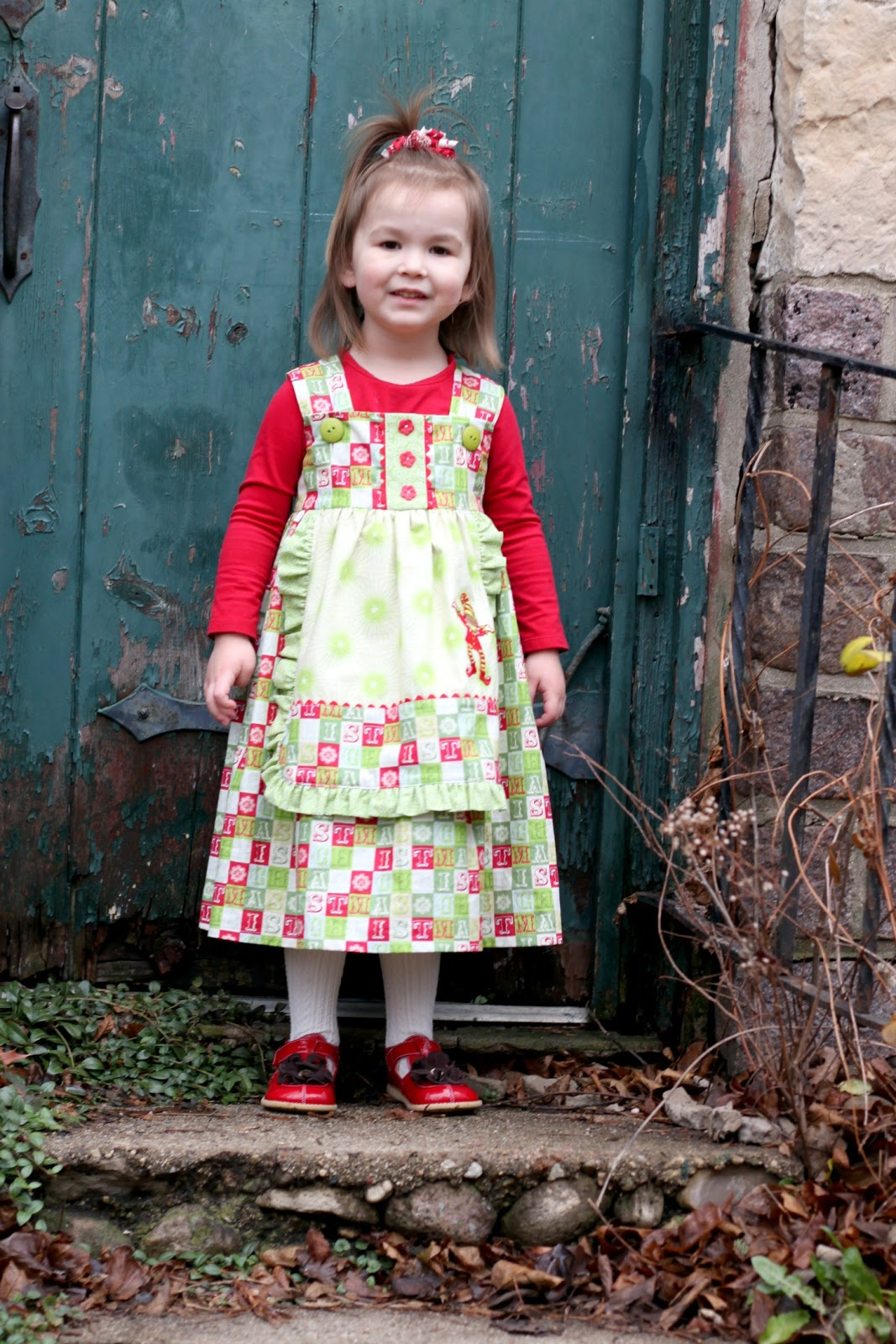 Cottage Christmas Outfits 2012