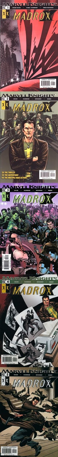 Madrox - Peter David Pablo Raimondi