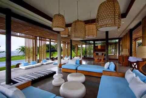 Interior Rumah Adat Bali - 01