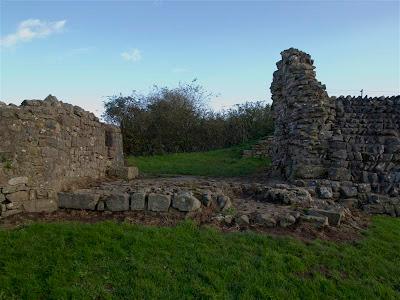 Puerta Oeste de Venta Silurum (Caerwent - Gales)