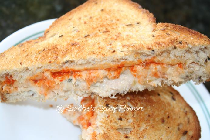 Spicy Tuna Melt ~ Smitha's Spicy Flavors, Cooking my way...