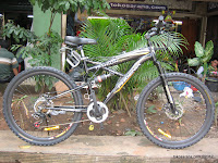 Sepeda Gunung Phoenix Fashion TRX 21 Speed Shimano Full Suspension 26 Inci