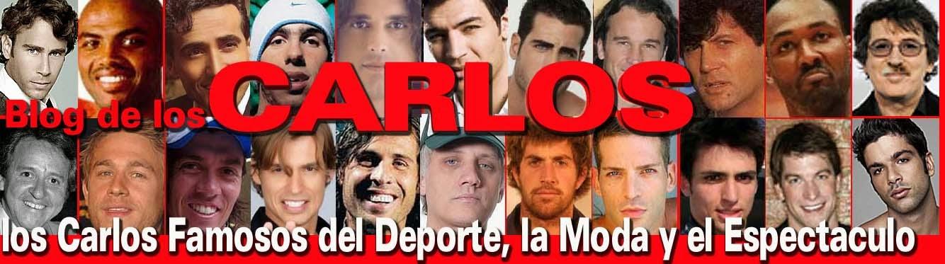 Carlos Famosos del Deporte, la Moda, los Medios y el Espectaculo