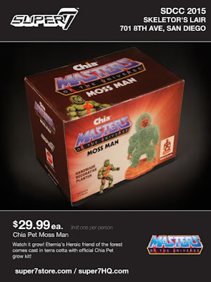 San Diego Comic-Con 2015 Exclusive Masters of the Universe Mossman Chia Pet by Super7