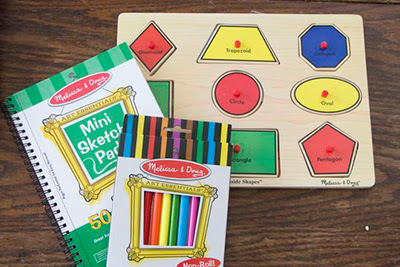 Going on a Shape Hunt #Kids #Activity @Gummylump