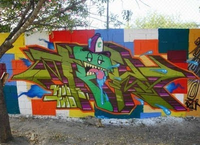 Graffiti Wall, Graffiti Street