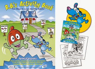 Image: Free kids activity booklet from Lysol