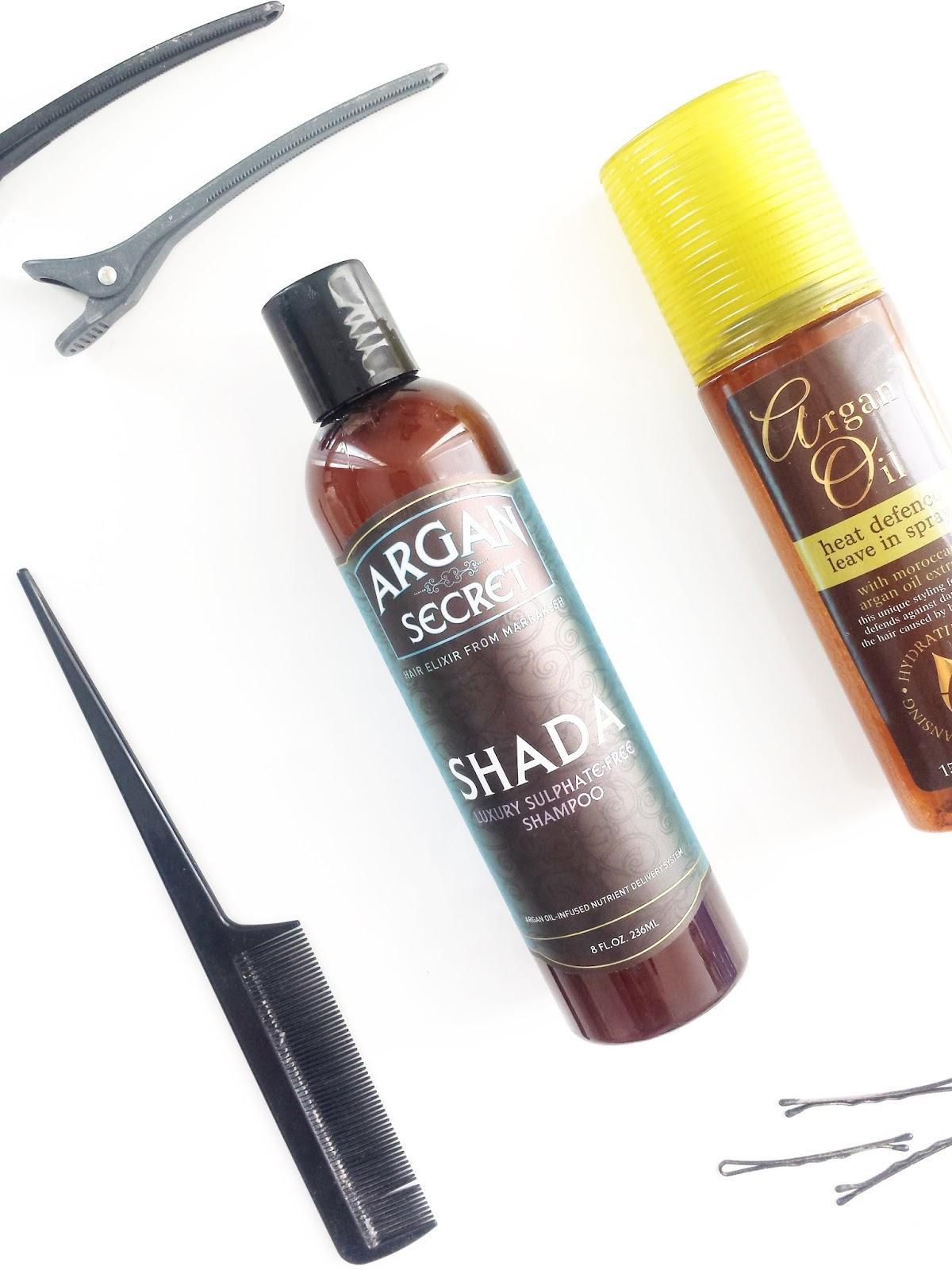 Argan Secret Shada Luxury Shampoo