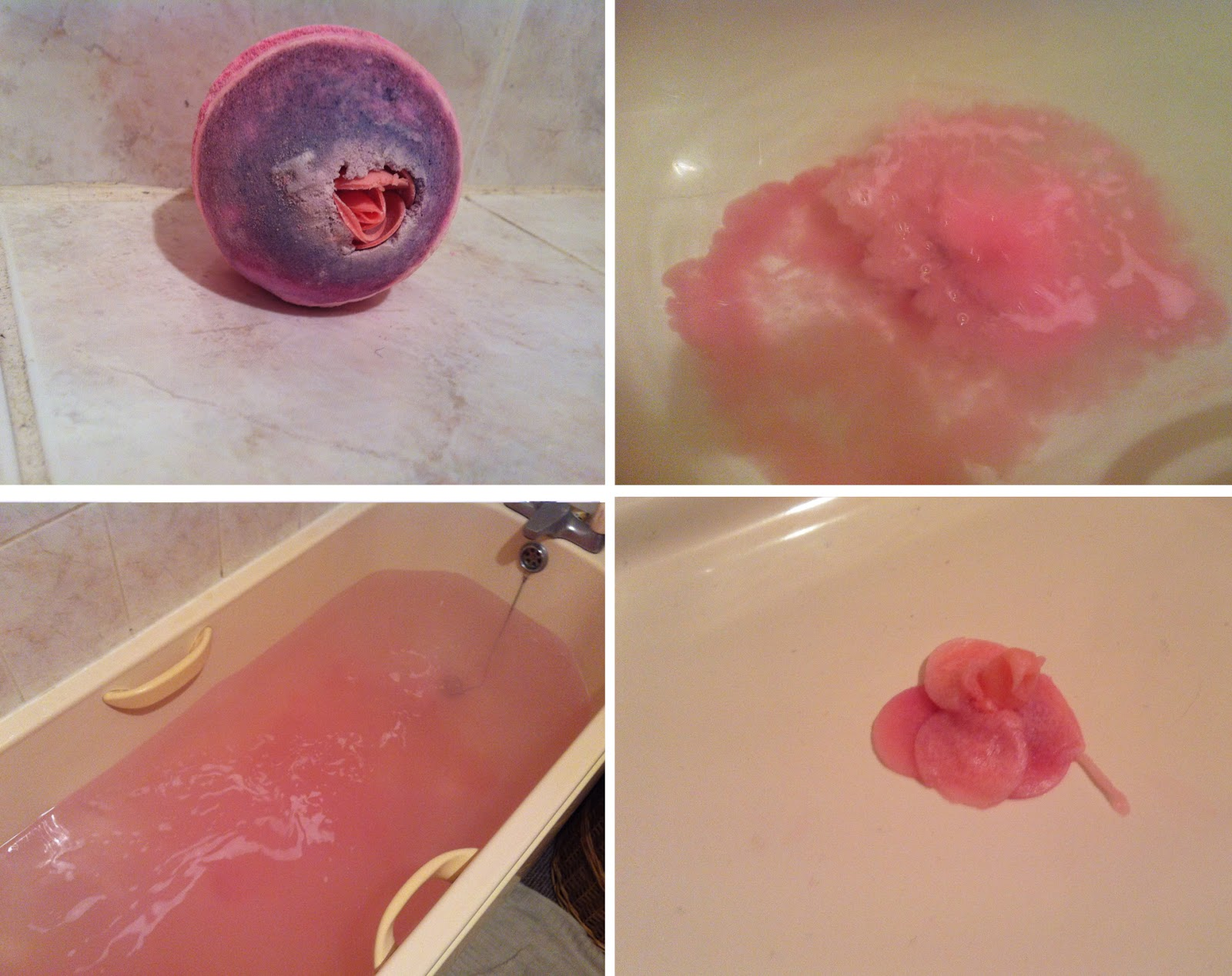 how to break bath bombs